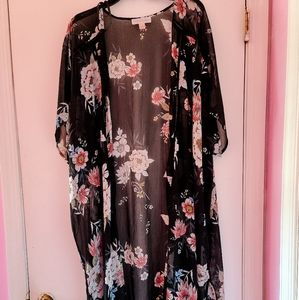 Band of Gypsies XL Floral Kimono